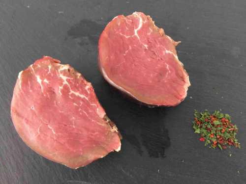 2 x 6oz fillets steaks